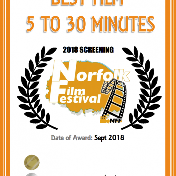 FORT BOX WINS BEST 5 TO 30 MINUTE FILM!