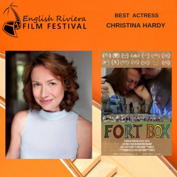 CHRISTINA HARDY WINS BEST ACTRESS AWARD AT RIVIERA FILM FESTIVAL